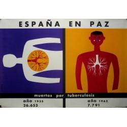 ESPAÑA EN PAZ TUBERCULOSIS