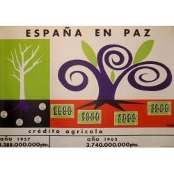 ESPAÑA EN PAZ CRÉDITO AGRÍCOLA