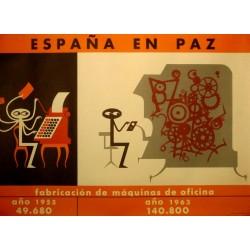 ESPAÑA EN PAZ MÁQUINAS OFICINA