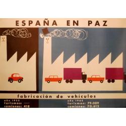 ESPAÑA EN PAZ FABRICACIÓN VEHÍCULOS