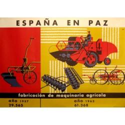 ESPAÑA EN PAZ MAQUINARIA AGRÍCOLA