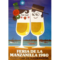 FERIA DE LA MANZANILLA 1980