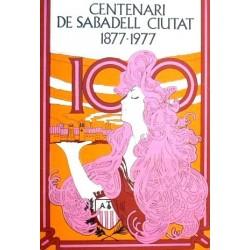 CENTENARI DE SABADELL CIUTAT 1877-1977