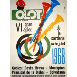 OLOT, VI GRAN APLEC DE LA SARDANA