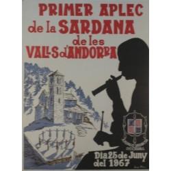 PRIMER APLEC DE LA SARDANA DE LES VALLS D'ANDORRA