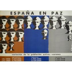 ESPAÑA EN PAZ VARIACIÓN POBLACIÓN ACTIVA VARONES