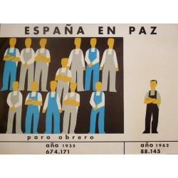 ESPAÑA EN PAZ PARO OBRERO