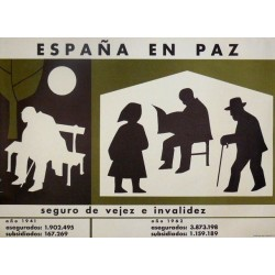 ESPAÑA EN PAZ SEGURO VEJEZ E INVALIDEZ