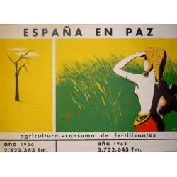 ESPAÑA EN PAZ CONSUMO FERTILIZANTES