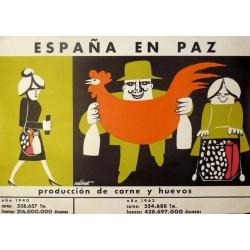 ESPAÑA EN PAZ PRODUCCIÓN CARNE Y HUEVOS