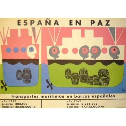 ESPAÑA EN PAZ TRANSPORTES MARÍTIMOS ESPAÑOLES