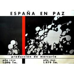 ESPAÑA EN PAZ PRODUCCIÓN MERCURIO