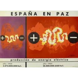 ESPAÑA EN PAZ PRODUCCIÓN ENERGÍA ELÉCTRICA