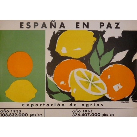 ESPAÑA EN PAZ EXPORTACIÓN DE AGRIOS