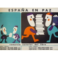 ESPAÑA EN PAZ COMERCIO EXTERIOR DEL LIBRO