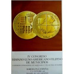 IV CONGRESO HISPANO-LUSO-AMERICANO-FILIPINO DE MUNICIPIOS
