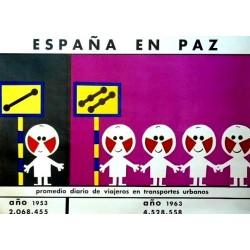 ESPAÑA EN PAZ TRANSPORTES URBANOS