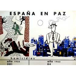 ESPAÑA EN PAZ HOMICIDIOS