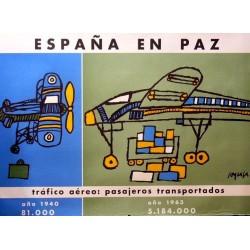 ESPAÑA EN PAZ TRÁFICO AÉREO