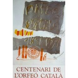 ORFEO CATALA, 1891-1991. CLAVE, ANTONI