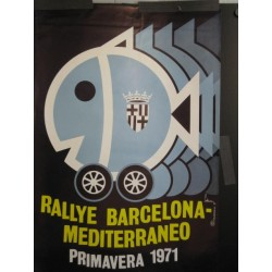 RALLYE BARCELONA MEDITERRANEO 1971