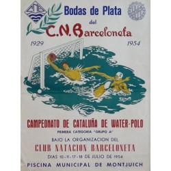 CLUB NATACION BARCELONETA, BODAS DE PLATA