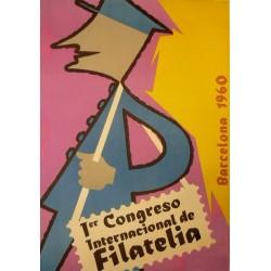 1ER CONGRESO INTERNACIONAL FILATELIA