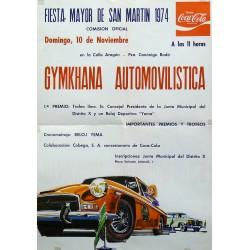 GYMKHANA AUTOMOVILISTICA 1974