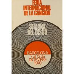 FERIA INTERNACIONAL DE LA CANCION, SEMANA DEL DISCO