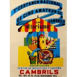 1er. CERTAMEN NACIONAL DE CINE AMATEUR DE CAMBRILS