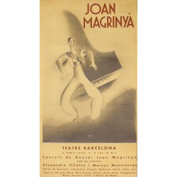 JOAN MAGRINYA. CONCERT DE DANSA. TEATRE BARCELONA