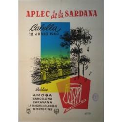 APLEC DE LA SARDANA. CALELLA 1960