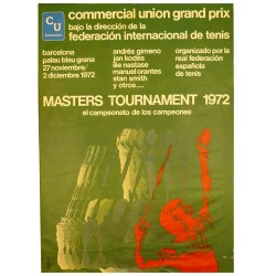TENIS MASTERS TOURNAMENT 1972