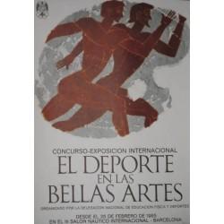 EL DEPORTE EN LAS BELLAS ARTES