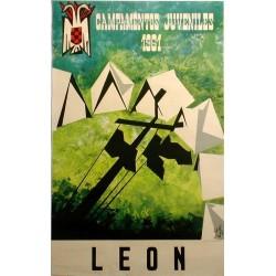 LEÓN, CAMPAMENTOS JUVENILES 1961