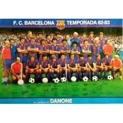 F. C. BARCELONA TEMPORADA 82-83