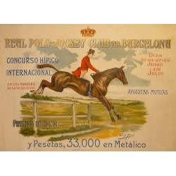 REAL POLO - JOCKEY CLUB DE BARCELONA - HÍPICA