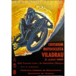CRITERIUM MOTOCICLISTA VILADRAU. 1988