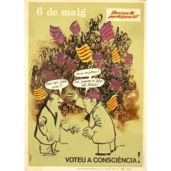 6 DE MAIG. VOTEU A CONSCIENCIA! F.C. BARCELONA