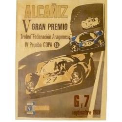 ALCAÑIZ 5º GRAN PREMIO 1969. TROFEO FED. ARAGONESA