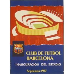 CLUB DE FUTBOL BARCELONA INAUGURACION DEL ESTADIO