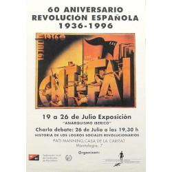 60 ANIVERSARIO REVOLUCION ESPAÑOLA 1936-1996