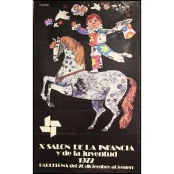 X SALON DE LA INFANCIA Y DE LA JUVENTUD 1972