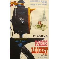 1er. RALLYE PARIS-LLORET DE MAR (COSTA BRAVA) 1966