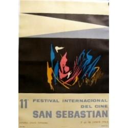 SAN SEBASTIÁN, 11º FESTIVAL INT. DEL CINE 1962