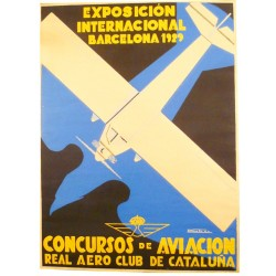 CONCURSOS DE AVIACION. REAL AERO CLUB DE CATALUÑA