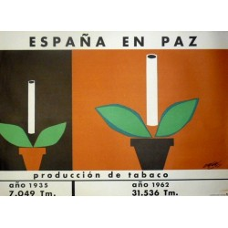 ESPAÑA EN PAZ PRODUCCIÓN DE TABACO