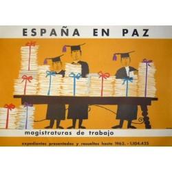 ESPAÑA EN PAZ MAGISTRATURAS DE TRABAJO