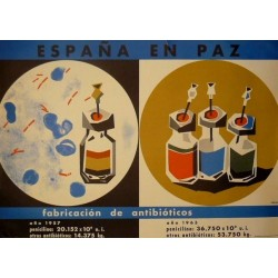 ESPAÑA EN PAZ FABRICACIÓN ANTIBIÓTICOS
