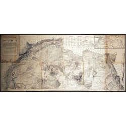 LANDFORM MAP OF NORTH AFRICA